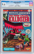 Bronze Age (1970-1979):Horror, Worlds Unknown #6 Don Rosa Collection Pedigree (Marvel, 1974) CGCNM+ 9.6 White pages....
