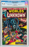 Bronze Age (1970-1979):Horror, Worlds Unknown #5 (Marvel, 1974) CGC NM+ 9.6 Off-white to whitepages....