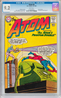 The Atom #9 (DC, 1963) CGC NM- 9.2 White pages