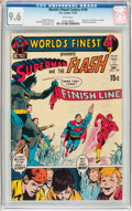 Bronze Age (1970-1979):Superhero, World's Finest Comics #199 (DC, 1970) CGC NM+ 9.6 White pages....