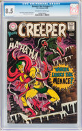 Silver Age (1956-1969):Superhero, Beware the Creeper #1 (DC, 1968) CGC VF+ 8.5 Off-white to white pages....