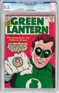Green Lantern #10 (DC, 1962) CGC VF+ 8.5 Off-white pages