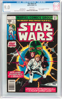 Star Wars #1 (Marvel, 1977) CGC VF/NM 9.0 White pages