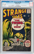 Silver Age (1956-1969):Horror, Strange Tales #79 (Marvel, 1960) CGC VF- 7.5 Off-white pages....