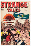 Silver Age (1956-1969):Horror, Strange Tales #97 (Marvel, 1962) Condition: VG....