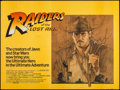 "Movie Posters:Adventure, Raiders of the Lost Ark (Paramount, 1981). British Quad (30"" X 40"")Style A. Adventure.. ..."