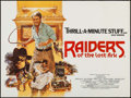 "Movie Posters:Adventure, Raiders of the Lost Ark (Paramount, 1981). British Quad (30"" X 40"")Style B. Adventure.. ..."