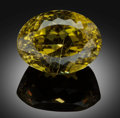 Gems:Faceted, Fine Gemstone: Chrysoberyl - 30 Ct.. Brazil. ...