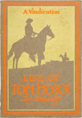 Books:Biography & Memoir, Tom Horn. Life of Tom Horn, Government Scout andInterpreter. Written by Himself Together with His Lettersand Sta...