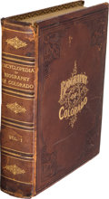 Books:Americana & American History, William N. Byers. Encyclopedia of Biography of Colorado. History of Colorado by William N. Byers. Volume I. Illust...