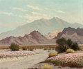 Fine Art - Painting, American:Modern  (1900 1949)  , Robert William Wood (American, 1889-1979). Desert Flora. Oilon canvas. 25 x 30 inches (63.5 x 76.2 cm). Signed lower le...