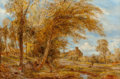 Fine Art - Painting, European:Antique  (Pre 1900), William Joseph J. C. Bond (British, 1833-1926). Near ColwynBay, 1895. Oil on canvas. 24 x 36 inches (61.0 x 91.4 cm). S...