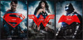 "Movie Posters:Action, Batman V Superman: Dawn of Justice (Warner Brothers, 2016). MiniPosters (3) (11.5"" X 17"") 3 Advance Styles. Action.. ... (Total: 3Items)"