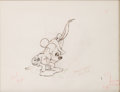 Animation Art:Production Drawing, The Brave Little Tailor Mickey Mouse Animation Drawing (WaltDisney, 1938)....
