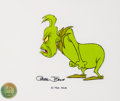 Animation Art:Production Cel, Doctor Seuss' How the Grinch Stole Christmas Grinch Production Cel (MGM, 1966)....