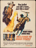 "Movie Posters:Western, Welcome to Hard Times (MGM, 1967). Poster (30"" X 40""). Western.. ..."