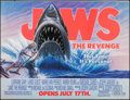 "Movie Posters:Thriller, Jaws: The Revenge (Universal, 1987). Banner (45.5"" X 60"") Advance. Thriller.. ..."