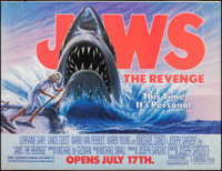 "Jaws: The Revenge (Universal, 1987). Banner (45.5"" X 60"") Advance. Thriller"