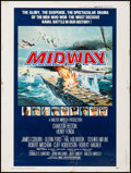 """Movie Posters:War, Midway (Universal, 1976). Poster (30"""" X 40"""") Style B. War.. ..."""