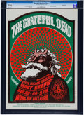 Music Memorabilia:Posters, Grateful Dead/Moby Grape Avalon Concert Poster FD-40 (Family Dog,1966)....