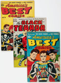 Golden Age (1938-1955):Miscellaneous, Golden Age Miscellaneous Restored Comics Group of 3 (Various Publishers, 1940s).... (Total: 3 Items)