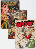 Golden Age (1938-1955):Miscellaneous, Comic Books: Assorted Golden Age Comics Group of 14 (Various Publishers, 1940s) Condition: Average FR.... (Total: 14 Comic Books)