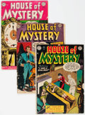 Golden Age (1938-1955):Horror, House of Mystery Group of 50 (DC, 1952-62) Condition: AverageFR/GD.... (Total: 50 Comic Books)