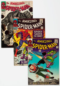 The Amazing Spider-Man Group of 31 (Marvel, 1965-76) Condition: Average VG/FN.... (Total: 31 Comic Books)