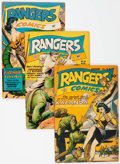 Golden Age (1938-1955):War, Rangers Comics Group of 15 (Fiction House, 1945-53) Condition:Average VG.... (Total: 15 Comic Books)