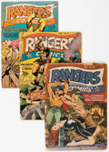 Golden Age (1938-1955):War, Rangers Comics Group of 13 (Fiction House, 1943-51) Condition:Average GD.... (Total: 13 Comic Books)