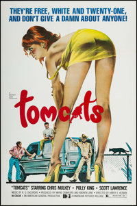"Tomcats & Other Lot (Dimension, 1976). One Sheets (2) (27"" X 41""). Crime. ... (Total: 2 Items)"