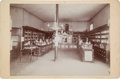 Photography:Studio Portraits, Tombstone, Arizona: Photograph of Interior of Drug Store, circa 1900....