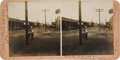Photography:Stereo Cards, Tombstone, Arizona: Stereoview of Street Scene in 1903....
