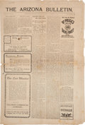 "Miscellaneous:Postcards, ""The Arizona Bulletin"": The November 28, 1902 Issue.... (Total: 3 )"