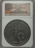 Betts Medals, 1783-Dated Libertas Americana French Medal, Betts-608, VF30 NGC....