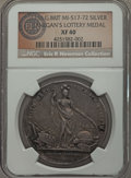 Betts Medals, 1736 Jernegan Cistern Medal, Betts-169, XF40 NGC. ...
