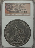 Betts Medals, 1783-Dated Libertas Americana French Medal, Betts-608 -Environmental Damage - NGC Details. VF. ...