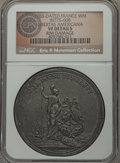 Betts Medals, 1783-Dated Libertas Americana French Medal, Betts-608 - Rim Damage- NGC Details. VF. ...