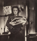 Photographs, Lucien Lorelle (French, 1894-1968). Mother and child, circa 1950. Gelatin silver. 23 x 20-1/4 inches (58.4 x 51.4 cm). S...