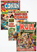 Bronze Age (1970-1979):Adventure, Conan-Related Group of 41 (Marvel, 1971-81) Condition: Average FN.... (Total: 41 Comic Books)