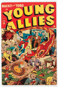 Golden Age (1938-1955):Superhero, Young Allies Comics #19 (Timely, 1946) Condition: VG....