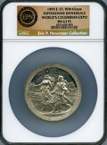 Expositions and Fairs, 1893 World's Columbian Exposition, Esposizione Universale, Eglit-37, MS63 Prooflike NGC....