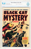 Golden Age (1938-1955):Horror, Black Cat Mystery #30 File Copy (Harvey, 1951) CBCS NM 9.4 Cream tooff-white pages....