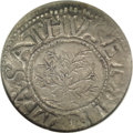 1652 SHILNG Oak Tree Shilling MS63 NGC. Noe-4, Crosby 3-D, R.4. 71.1 grains. An outstanding Oak Tree Shilling type coin...