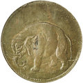 Colonials: , (1694) TOKEN London Elephant Token, Thick Planchet MS62 Brown NGC.Breen-186, Hodder 2-B. A well struck and attractive maho...