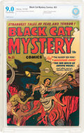 Golden Age (1938-1955):Horror, Black Cat Mystery #31 File Copy (Harvey, 1951) CBCS VF/NM 9.0 Creamto off-white pages....