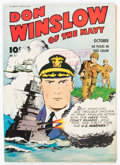 Golden Age (1938-1955):War, Don Winslow of the Navy #8 Crowley/File Copy (Fawcett Publications,1943) Condition: VF-....