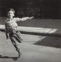 Photographs, Edward Wallowitch (American, 1932-1981). Untitled (boyrunning), 1950s. Gelatin silver. 6-1/4 x 6-1/4 inches (15.9 x15....