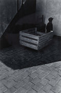 Photographs, Charles Harbutt (American, 1935-2015). Blind boy at wall,1961. Gelatin silver. 14 x 11 inches (35.6 x 27.9 cm). Signed,...
