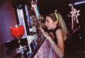 Photographs, Lauren Greenfield (American, b. 1966). Jessica, 13, orders a non-alcholic drink at a party, Beverly Hills, 1995. Dye des...